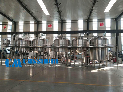 40HL Four Vessel Brew House System