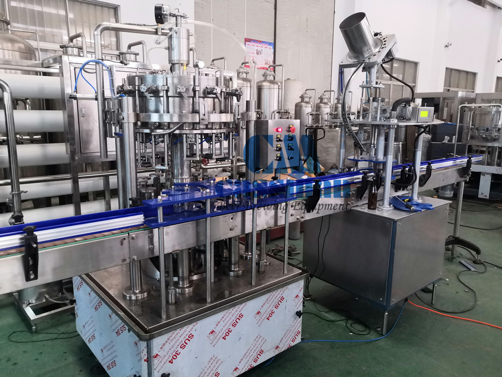 12-1 Glass Bottle Filling Line